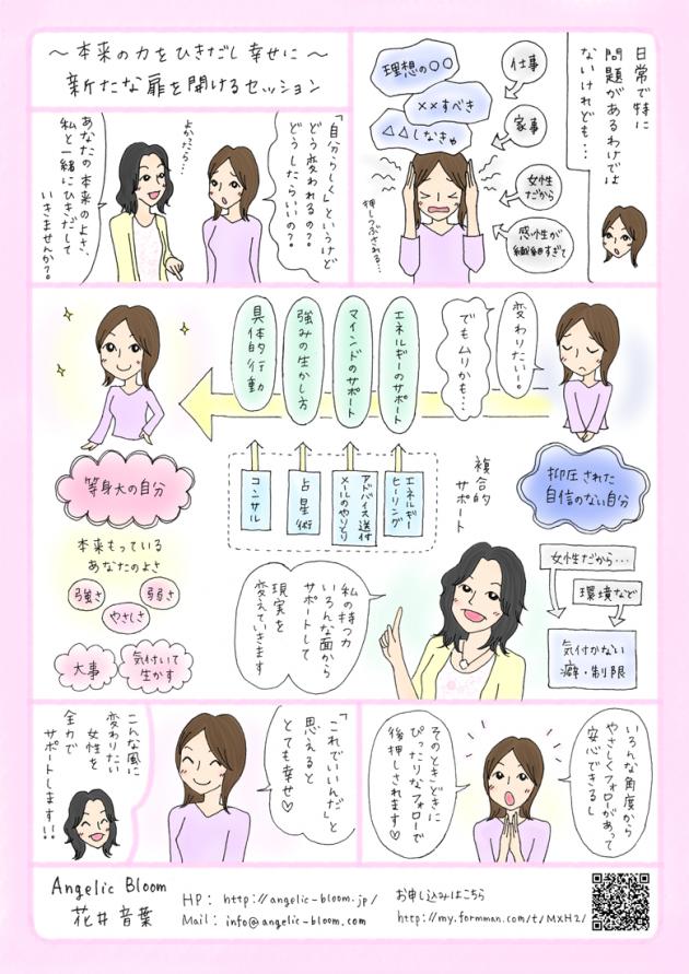 Angelic Bloom のワークご紹介マンガ
