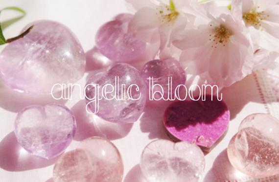 ピンクの石たち