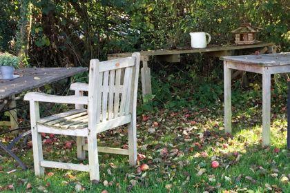 秋のカフェ